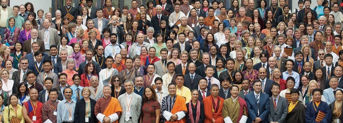 Conference participants at the Seventh  Congress of the International Association for the Study of Traditional Asian Medicines in Thimphu, Bhutan