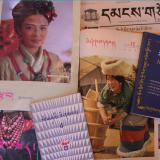 Some of the Tibetan-language periodicals held by Trace Foundation's Latse Library